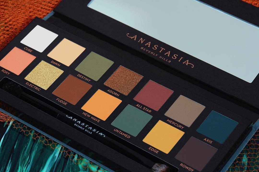 Anastasia beverly hills subculture eyeshadow palette sephora