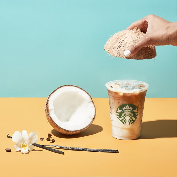 Starbucks New Salted Cream Cold Foam Cold Brew Amp Iced