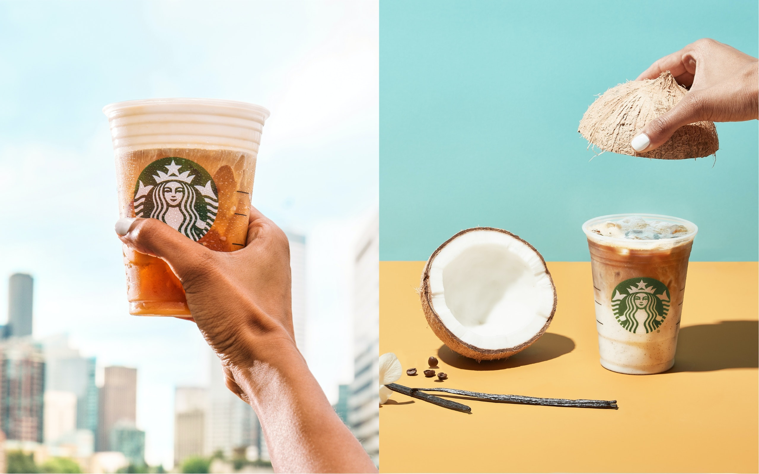 Starbucks New Salted Cream Cold Foam Cold Brew Iced