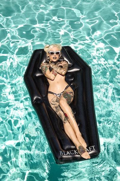 Coffin Pool Float