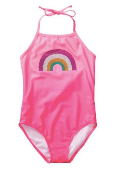 Rainbow 1-Piece Swimsuit