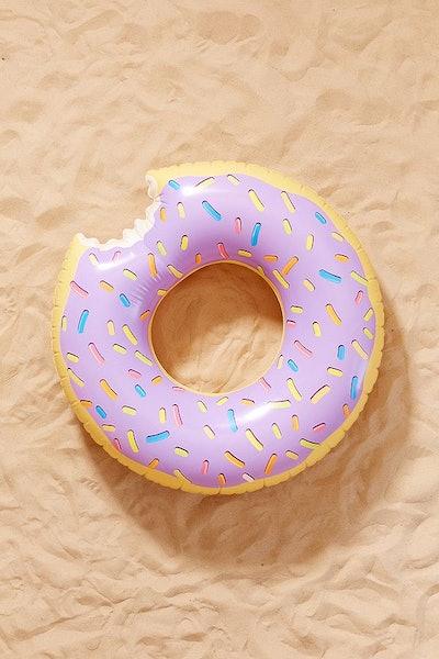 Lilac Donut Inner Tube Float