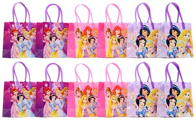 Disney Princess Party Favor Goodie Gift Bags