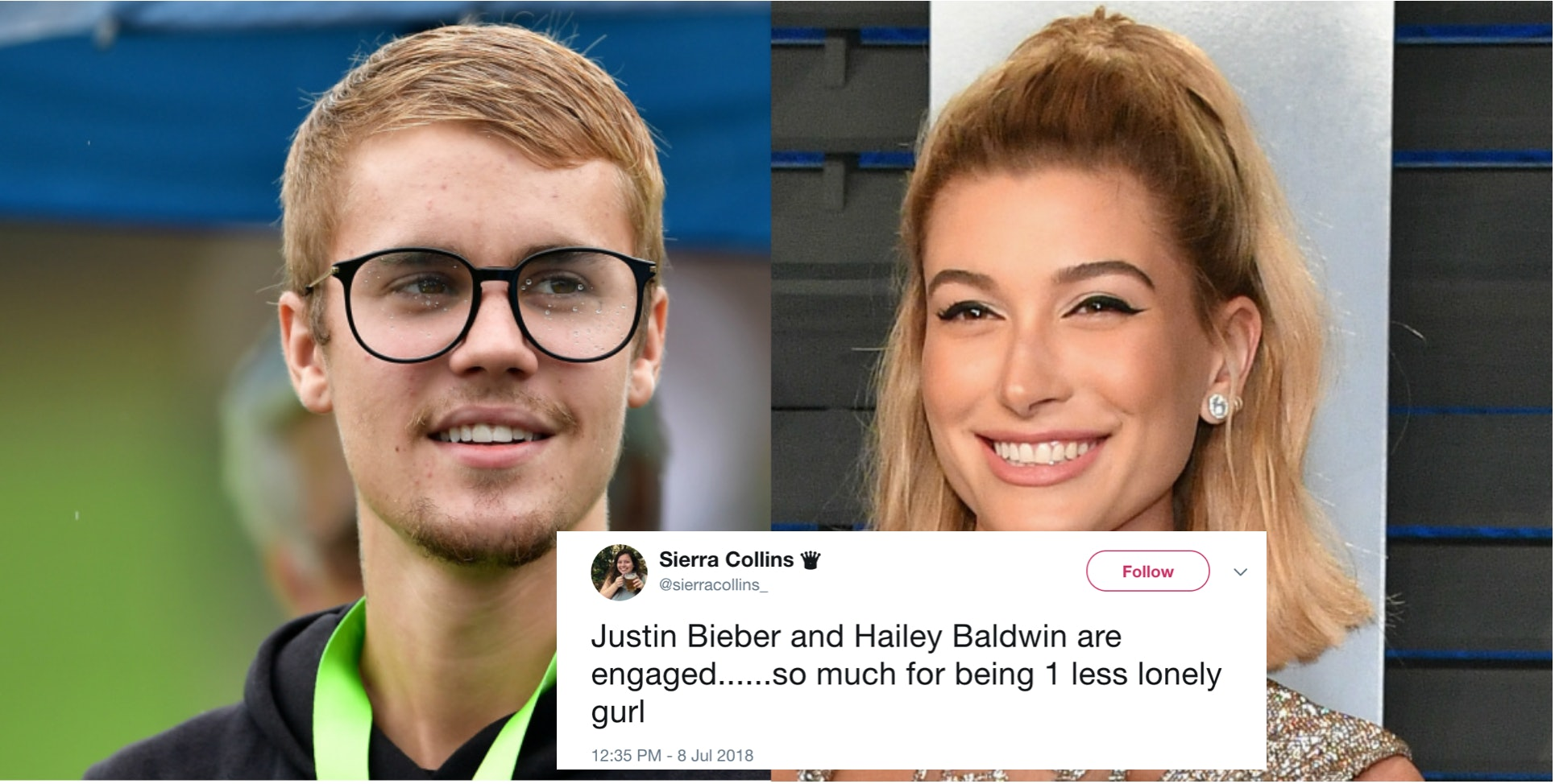 foto Twitter Is FLIPPING OUT Over Justin Biebers Engagement to Hailey Baldwin