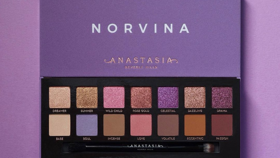 When Does The Anastasia Beverly Hills Norvina Palette Come Out It S Literally Purple Perfection