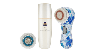 Clarisonic Mia 2 Sonic Cleansing System with Brush Head & Tatcha Cleanser