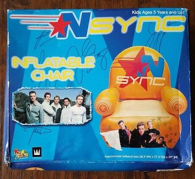 NSYNC Inflatable Vinyl Chair