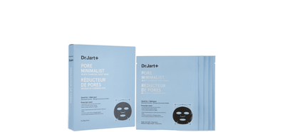 Dr. Jart Set of 5 Pore Minimalist Black Charcoal Sheet Mask