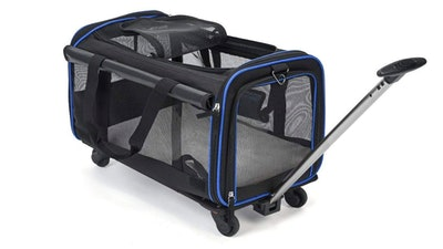 YOUTHINK Pet Carrier With Wheels