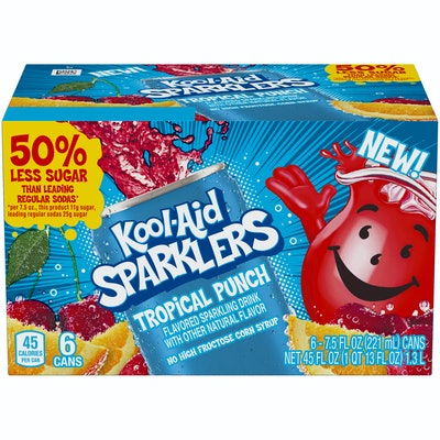 Kool Aid Sparklers, Tropical Punch