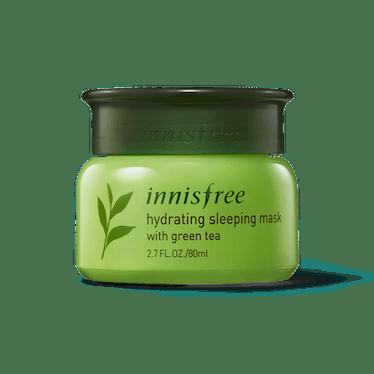 Hydrating Sleeping Mask with Green Tea