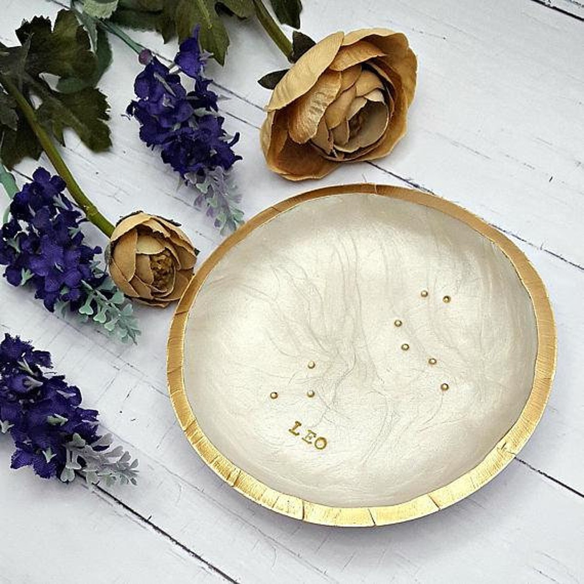 Zodiac Constellation Ring Dish