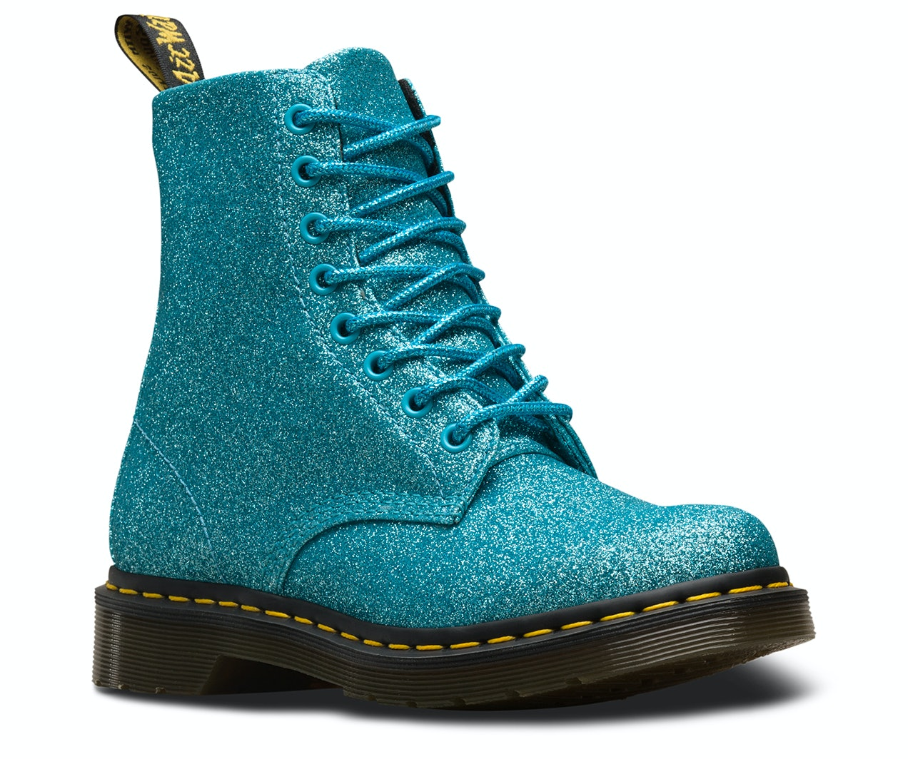 8c69e6e12e Dr. Martens Glittery Pascal Boots Will Literally Give You Twinkle Toes