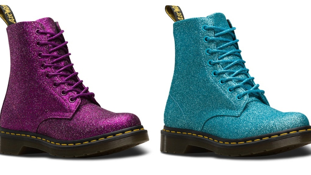 Dr. Martens Glittery Pascal Boots Will Literally Give You Twinkle Toes 94df24664b34