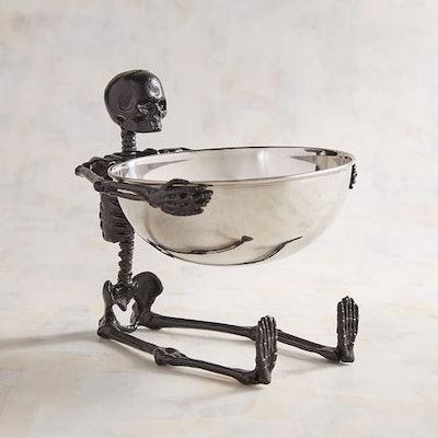 Skeleton Halloween Candy Bowl