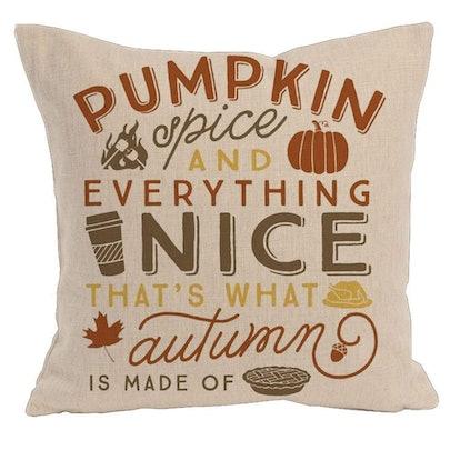 Fall Decor Cotton Linen Pillow Covers