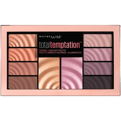 Maybelline New York Total Temptation Shadow + Highlight Palette