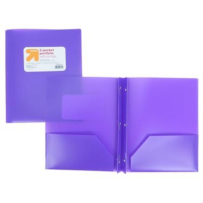 Target Brand Plastic Folder
