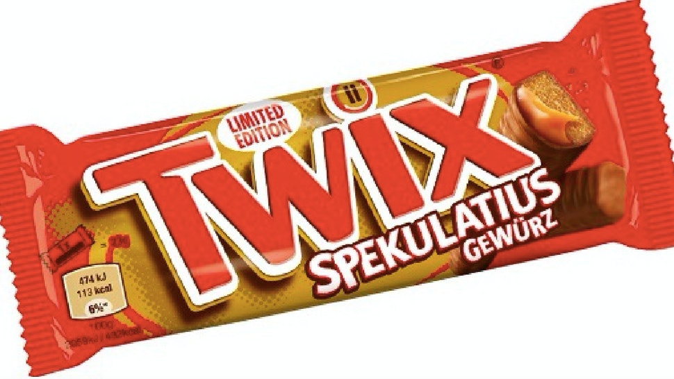 Cookie Butter Twix Candy Bars Are Coming To Germany This Holiday Season