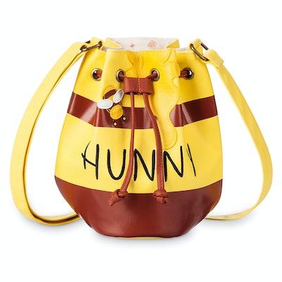 Winnie The Pooh Honey Pot Drawstring Crossbody Bag by Loungefly