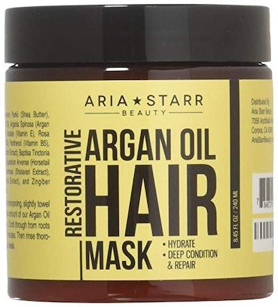Aria Starr Beauty Argan Oil Hair Mask