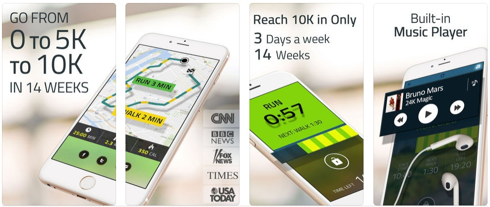 7 Free Running Apps To Help You Train For A 10K