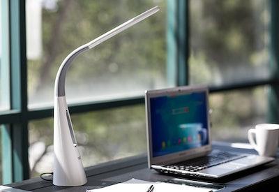 Turcom AirLight Desk Lamp With Bladeless Fan