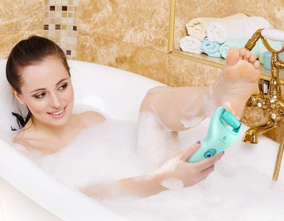 MiroPure Rechargeable Electric Pedicure Foot File