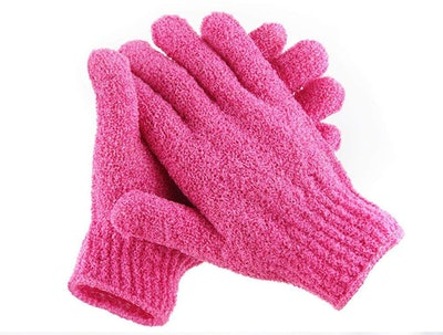 Scheam Exfoliating Body Spa Bath Gloves