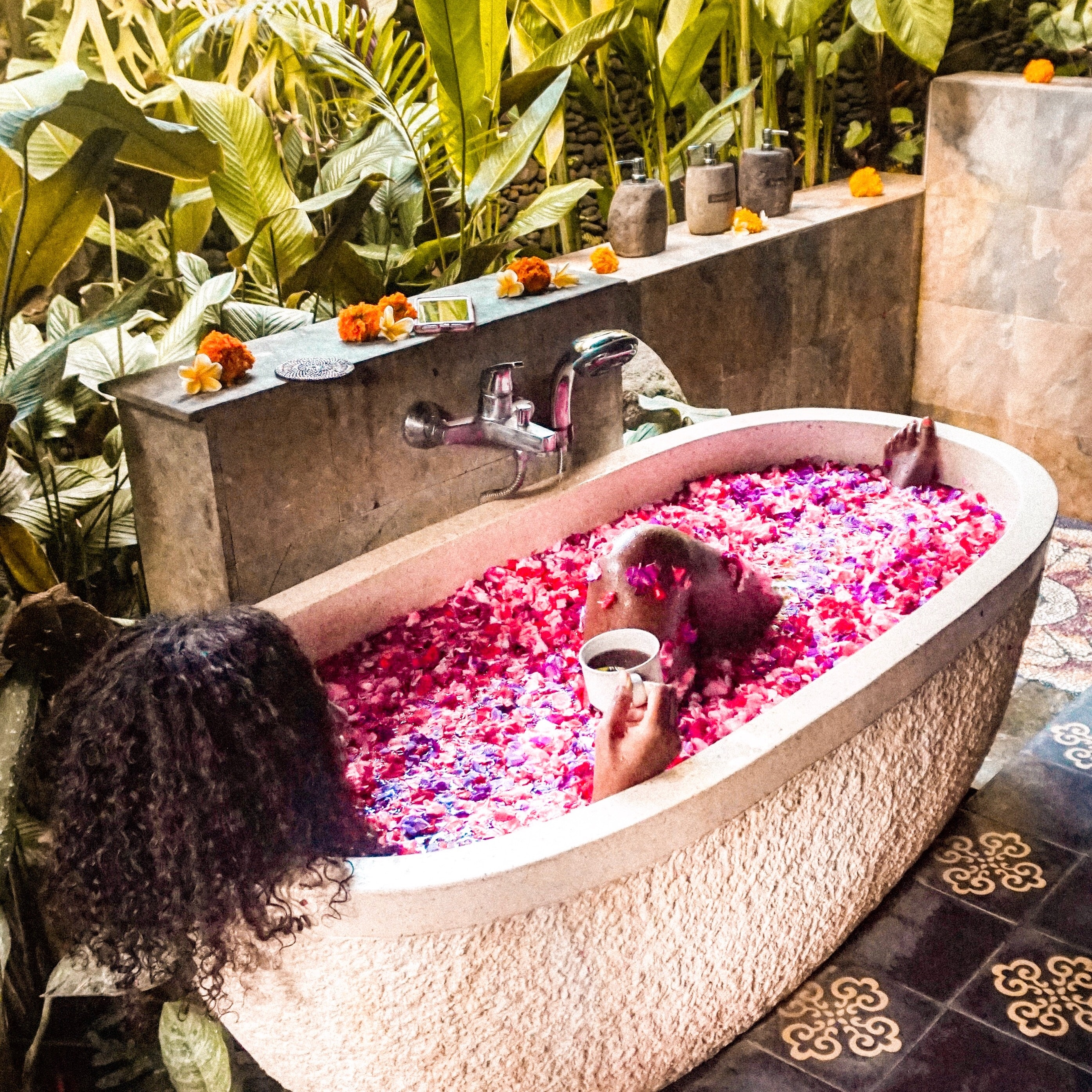I Bathed In The Flower Bath Everyone's Obsessed With On