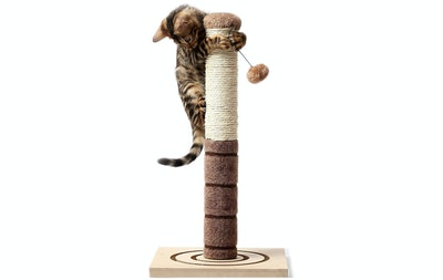 4 Paws Stuff 22-Inch Tall Cat Scratching Post