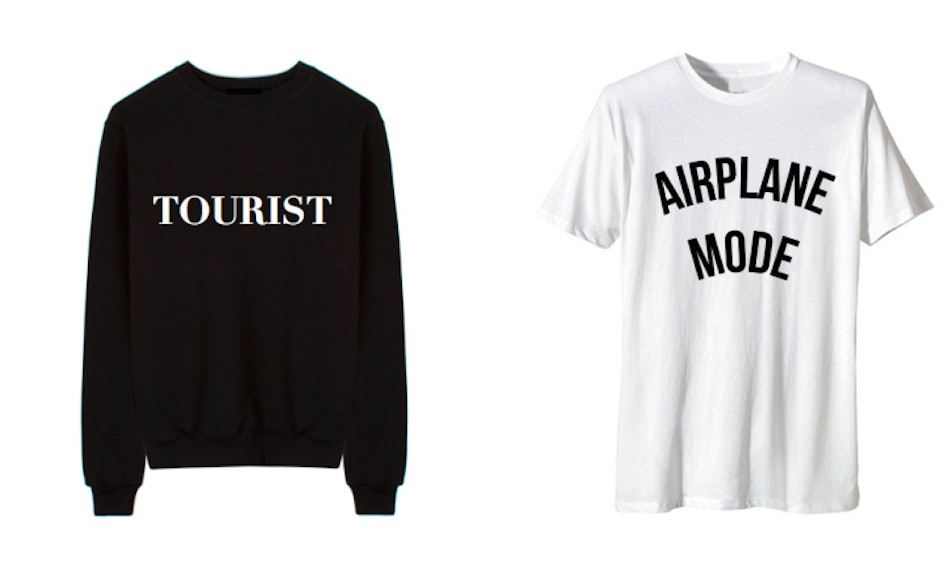 Departure clothing brand will boost your travel style to first class for Travel gear brand