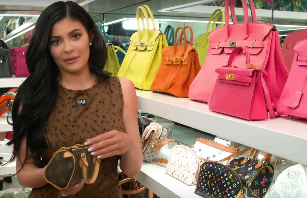 Kylie Jenner s Multicolored Louis Vuitton Purse Is The Ultimate Early  00s  Throwback fe324a49cdad4