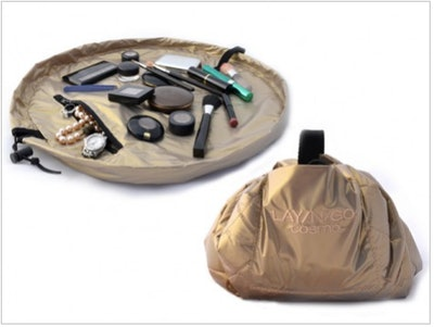 Metallic Makeup Case