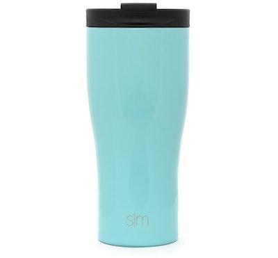 Simple Modern Travel Mug With Straw, 15-Ounce