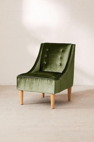 Inez Tufted Velvet Chair