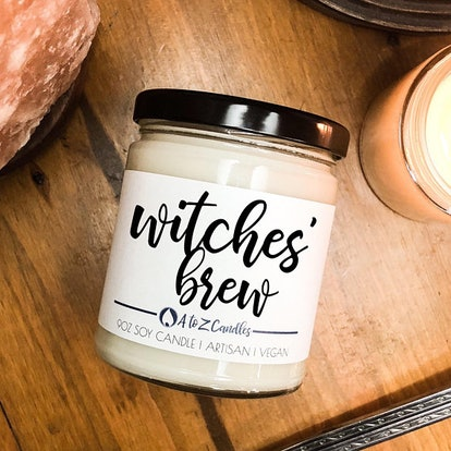 Witches Brew Halloween Soy Candle