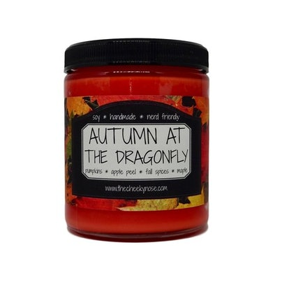 Pumpkin Candle - Autumn At The Dragonfly