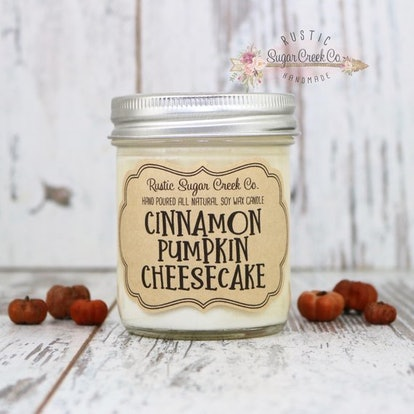 Cinnamon Pumpkin Cheesecake Scented Candle
