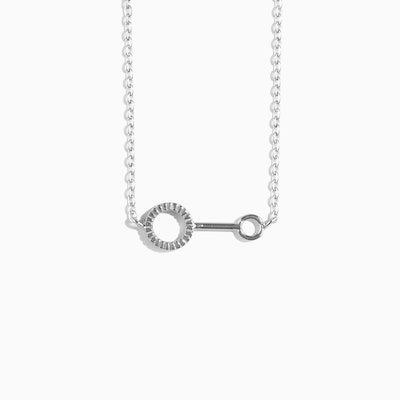'Bubble Wand' Necklace - Silver