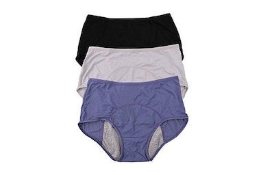 Yoyi Fashion Leakproof Period Panties (3-Pack)