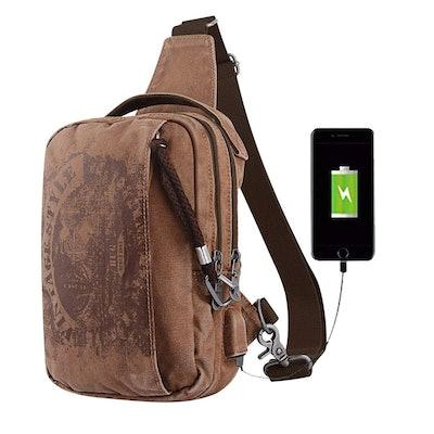 BUG Sling Backpack Anti-Theft Canvas Bag