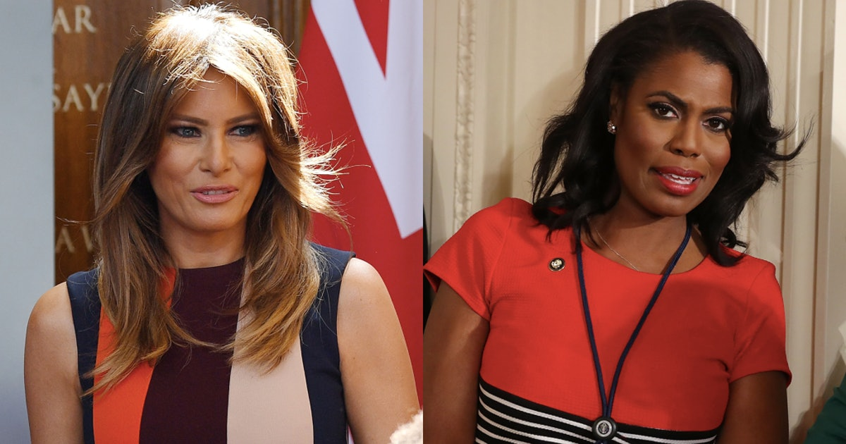 The Advice Melania Reportedly Gave Trump About Dealing With Omarosa Clearly Didn't Take