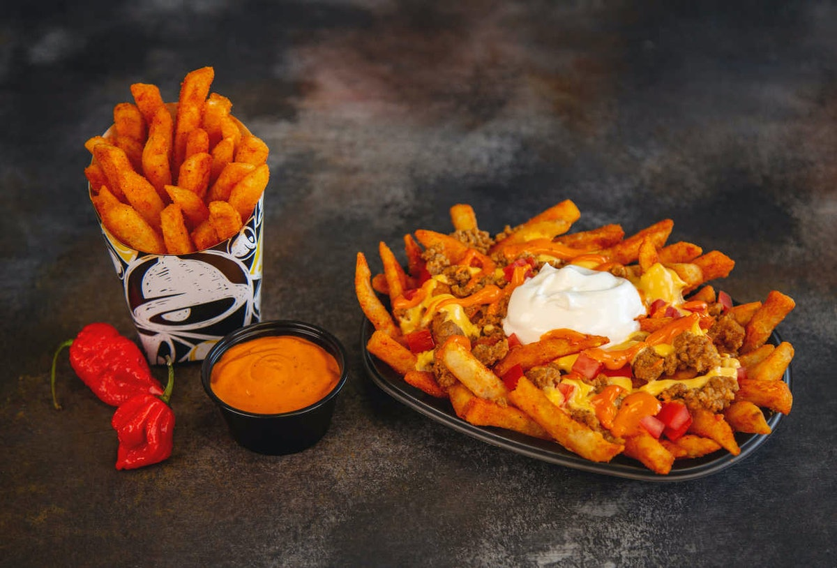Taco Bell's New Reaper Ranch Fries Are Made With The World's Hottest Pepper