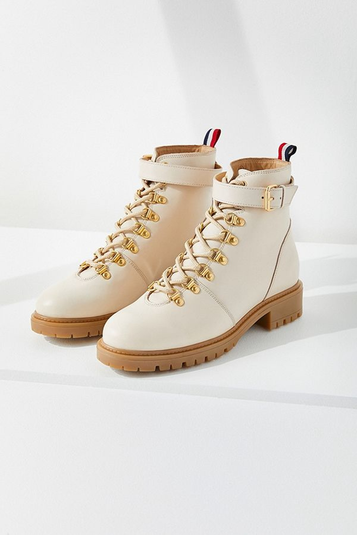 UO Jessa Leather Hiker Boot