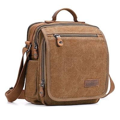 Plambag Canvas Crossbody Messenger Bag