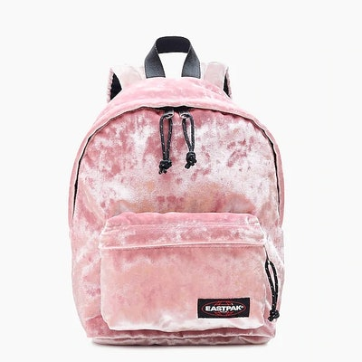 Orbit Backpack In Pink Velvet