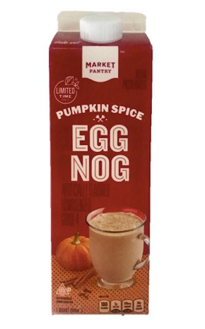 Pumpkin Spice Egg Nog