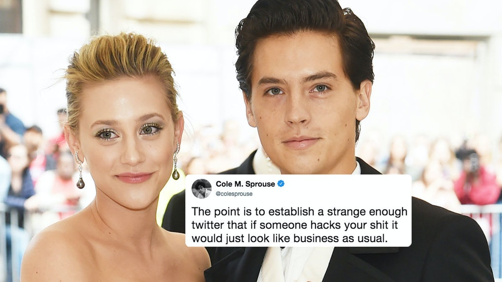 Cole Sprouse  Lili Reinharts Reaction To Their Twitters Getting Hacked Was So Chill-4101