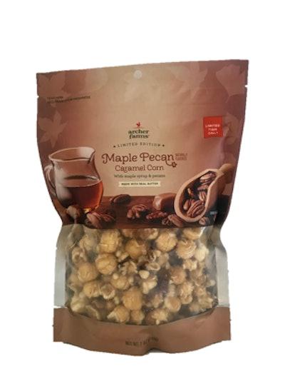 Maple Pecan Caramel Popcorn